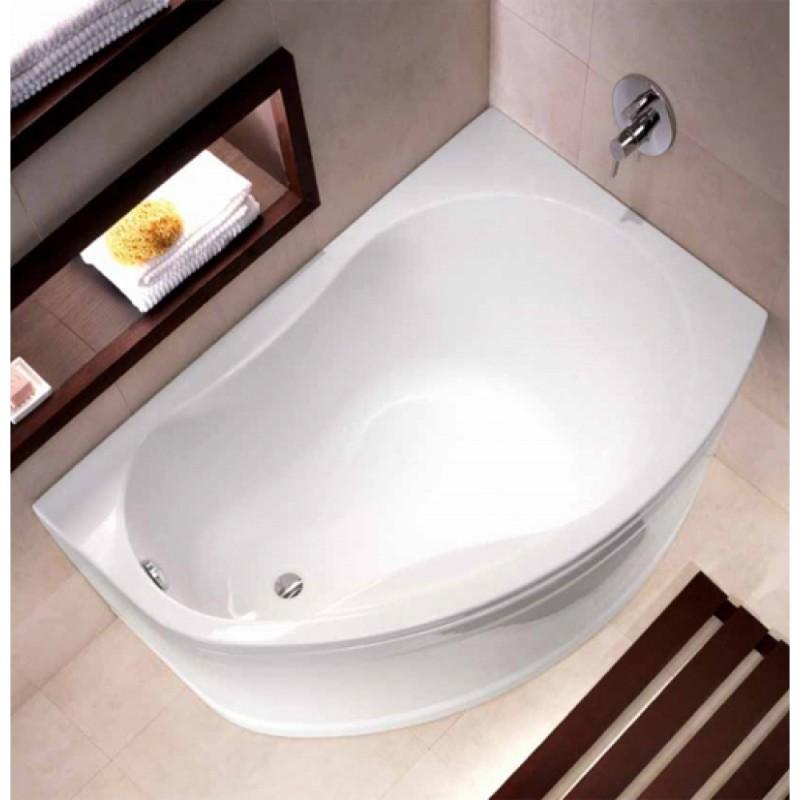 Акриловые угловые асимметричные ванны купить