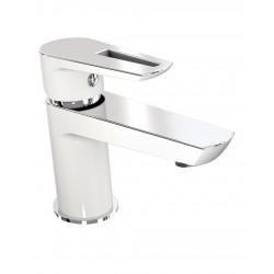 BRECLAV 05245W смеситель для раковины, хром/белый, IMPRESE