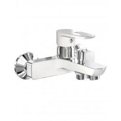 BRECLAV 10245W смеситель для ванны, хром/белый, IMPRESE