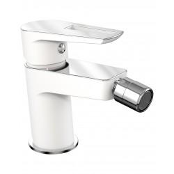 BRECLAV 40245W смеситель для биде, хром/белый, IMPRESE
