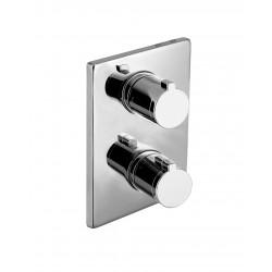 CENTRUM VRB-10400Z смеситель для ванны, термостат, скрытый монтаж, IMPRESE