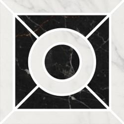 Декор ID94 ФРАГОНАР ЧЕРНЫЙ наборной (99x99), KERAMA MARAZZI
