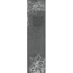 Декор DD701100R\D АБЕТЕ СЕРЫЙ ТЕМНЫЙ обрезной (200x800), KERAMA MARAZZI