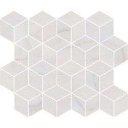Декор T017\14003 ГРЕППИ БЕЛЫЙ мозаичный (400x375), KERAMA MARAZZI