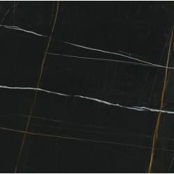 Плитка SG642102R ГРЕППИ ЧЕРНЫЙ лаппатированный обрезной (600x600), KERAMA MARAZZI