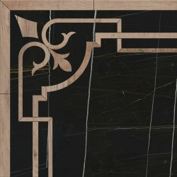 Декор ID115 ГРЕППИ наборной (600x600), KERAMA MARAZZI