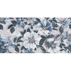 Плитка SG591002R РОЗЕЛЛА СИНИЙ декорированный лаппатированный (1195x2385), KERAMA MARAZZI