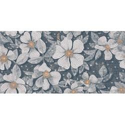 Плитка SG591102R РОЗЕЛЛА СЕРЫЙ декорированный лаппатированный (1195x2385), KERAMA MARAZZI