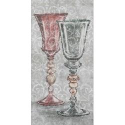 Декор VTA67SG5918R БОКАЛЫ обрезной (1195x2385), KERAMA MARAZZI