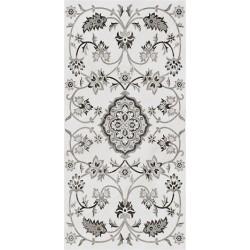 Плитка SG810302R ПАРНАС СЕРЫЙ декорированный лаппатированный (400x800), KERAMA MARAZZI