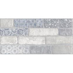 Плитка SG250800R КАМПАЛТО БЕЛЫЙ декорированный обрезной (300x600), KERAMA MARAZZI
