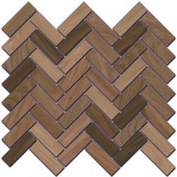 Декор SG194\002 СЕЛЕКТ ВУД БЕЖ ТЕМНЫЙ мозаичный (330x330), KERAMA MARAZZI