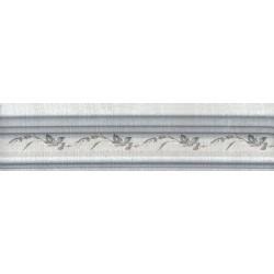 Бордюр BLB029 БАГЕТ КАНТРИ ШИК СЕРЫЙ декорированный (50x200), KERAMA MARAZZI