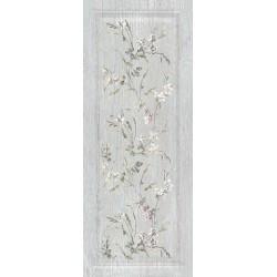 Плитка 7189 КАНТРИ ШИК СЕРЫЙ панель декорированный (200x500), KERAMA MARAZZI