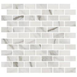 Декор MM13105 БУОНАРРОТИ БЕЛЫЙ мозаичный (320x300), KERAMA MARAZZI