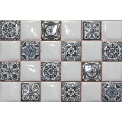Плитка NOVUM WHITEBLUE (25x40), ARGENTA CERAMICA (Испания)