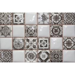 Плитка NOVUM WHITEBLACK (25x40), ARGENTA CERAMICA (Испания)
